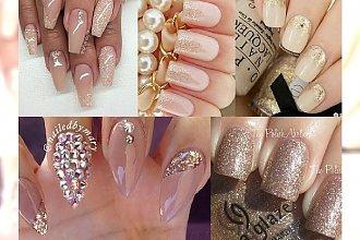 Champagne Manicure - paznokcie w kolorze... szampana! Idealne na noworoczną imprezę