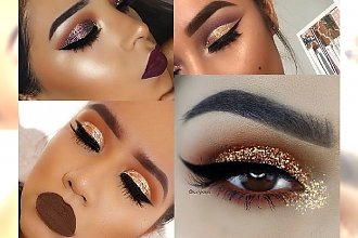 Glitter Make up - brokatowy makijaż na sylwestrową noc