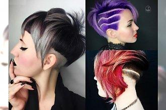 Krótkie fryzury w rockowym stylu - odważne, asymetryczne cięcia nie dla szarych myszek!