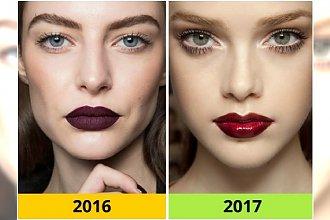 10 makijażowych i fryzjerskich trendów, które pożegnamy w roku 2016 - SPRAWDŹ CO NAS CZEKA W 2017!