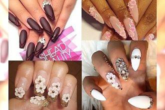 Masz dość zimy? Wypóbuj kwiatowy manicure!