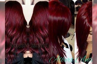 Merlot - niezwykły kolor włosów dla kochających winne rudości