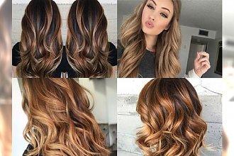 CARAMEL HAIR - koloryzacja dla brunetek idealna na powitanie 2017 roku!