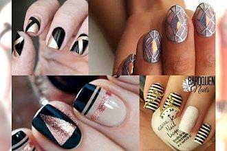 NEW YEAR'S NAILS: paznokcie na Sylwestra, jakich jeszcze nie widziałyście!