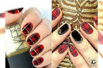 Kratka na paznokciach - uroczy i modny motyw na Boże Narodzenie