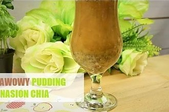 Kawowy pudding z nasion chia
