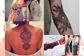 Inspiracje na tatuaże, jakich jeszcze nie widziałaś! TOP 25 CHARYZMATYCZNYCH wzorów!