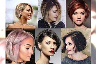 Supermodny short bob w różnorodnych odsłonach! Przegląd fryzjerskich trendów 2017!
