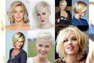 Półdługie i krótkie fryzury dla blondynek! TOP 20 wyjątkowych inspiracji!