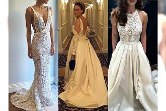 Look z czerwonego dywanu: Sarah Jessica Parker w OLŚNIEWAJĄCEJ białej sukni. Noś biel nie tylko do ślubu!