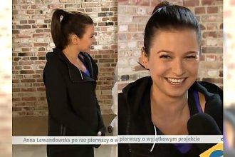 Anna Lewandowska PIERWSZY RAZ mówi o ciąży! Pokazuje, jak ĆWICZY!