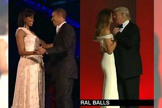 O tym tańcu dziś mówią wszyscy! Trump czy Obama? Kto zatańczył lepiej?