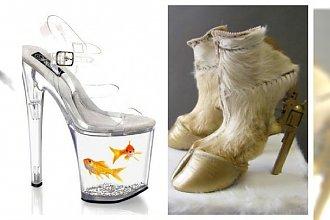 Najdziwniejsze buty jakie kiedykolwiek widziałaś... Czy ktoś to nosi?!