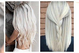 Przepiękny white blond- stylowy odcień na wiosenną metamorfozę!