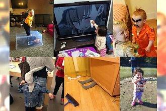 Tam, gdzie są dzieci nigdy nie jest nudno! Codzienność każdego rodzica to ciągłe niespodzianki, ale te maluchy przeszły same siebie!