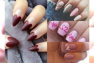 Nietuzinkowy manicure na Walentynki 2017. Zrezygnuj z oklepanej czerwieni i postaw na oryginalne motywy!