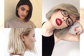 BLUNT BOB - fryzura, którą pokochają kobiety z cienkimi włosami. Galeria fantastycznych inspiracji!