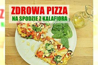 Fit pizza na spodzie z kalafiora