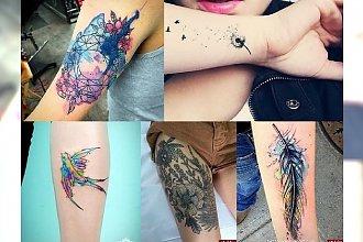 Najnowsze, stylowe tatuaże - charyzmatyczne TRENDY 2017!