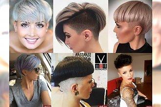 Galeria krótkich fryzur 2017 - otwórz się na najnowsze fryzjerskie trendy! [TOP 30-stka]