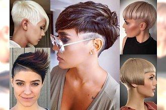 Supermodne fryzury dla krótkich włosów! Galeria fryzjerskich trendów 2017!