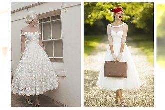 Ślubne sukienki w stylu retro- znajdź swoją wymarzoną suknię!