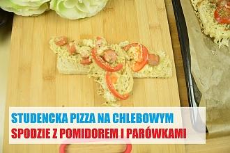 Pizza studencka - czyli szybka i tania zapiekanka
