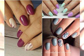 Hybrydy na wiosnę - wzory lekki i świeże. 20 pomysłów na nowy manicure!