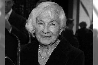 Danuta Szaflarska nie żyje. Niedawno obchodziła 102 urodziny. Przypominamy jej zdjęcia