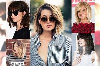 26 stylowych inspiracji na fryzurki z półdługich włosów, które skradną Twoje serce! HOT TRENDY 2017!