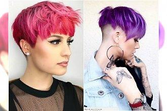 Krótkie fryzury w modnych, ożywczych kolorach! Najlepsze inspiracje na nowy sezon