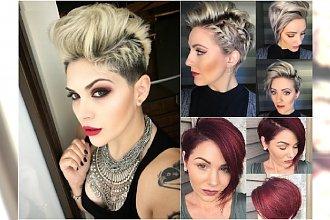 Krótkie fryzury - idealne na komunię, wesele i inne uroczystości