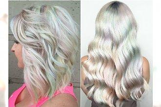 Opalizujący blond zamiast platyny. Co powiecie na ten niezwykły kolor włosów?