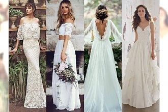 25 sukni ślubnych w stylu BOHO, które sprawią, że będziesz chciała wziąć ślub OD RAZU!