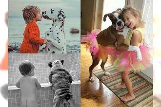 15 cudownych zdjęć, które pokazują niesamowitą więź między dziećmi i psami