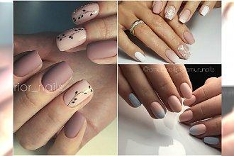 Paznokcie nude w wiosennej odsłonie. Cielisty manicure jeszcze nigdy nie wyglądały tak pięknie!