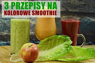 3 pomysły na wyśmienite smoothie warzywno-owocowe