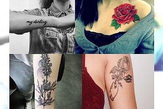 Kilkanaście bardzo kobiecych tatuaży - motywy, którym się nie oprzesz!