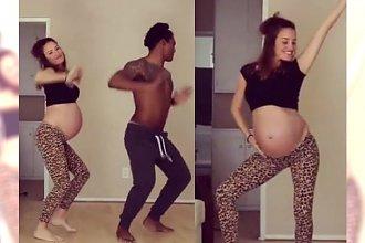 Taniec tej ciężarnej blogerki stał się hitem sieci. Gemma Marin właśnie urodziła i pokazała zdjęcie maleństwa!