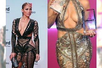 Jennifer Lopez w DWÓCH SEKSOWNYCH KREACJACH na gali Billboard Latin Music Awards 2017