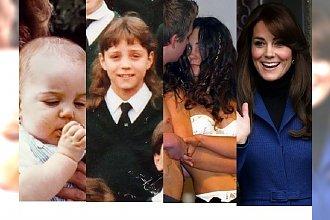 Kate Middleton w przeszłości. Tak wyglądała kiedyś księżna Cambridge!