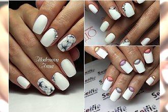 Białe hybrydy - najpiękniejsze wzory na sezon wiosna-lato