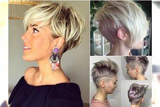 Modne krótkie fryzury damskie - 20 rewelacyjnych cięć z Instagrama
