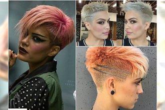 Krótkie fryzury - modne propozycje dla wiecznych chłopczyc