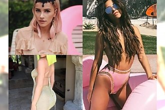 Gwiazdy na Coachelli 2017: Półnaga Kylie, Shay Mitchell bez stanika, a jak wyglądały Maff i Jemerced?