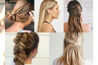 Stylowe ozdoby do włosów, które zrobisz ze zwykłych wsuwek!! Galeria inspiracji
