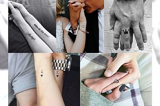 Permanentne wyznanie miłości, czyli tatuaż z okazji ślubu - HIT CZY KIT? Galeria