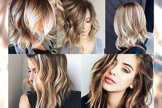 Blond baleyage - najpiękniejsze stylizacje włosów, które musisz pokazać swojemu fryzjerowi!