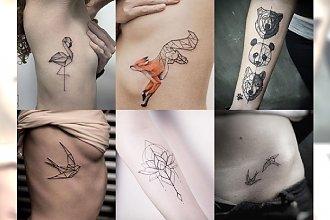 Geometryczne tatuaże - galeria kobiecych wzorów, które skradły nasze serce!