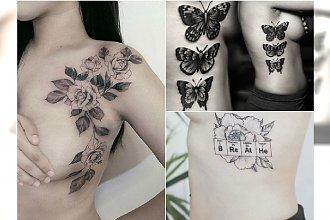 Tatuaż na boku - duże tatuaże z pięknymi motywami. Dla takiego efektu warto pocierpieć!
